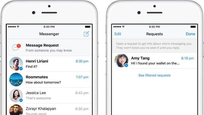Facebook erstatter spam-indbakken med beskedanmodninger