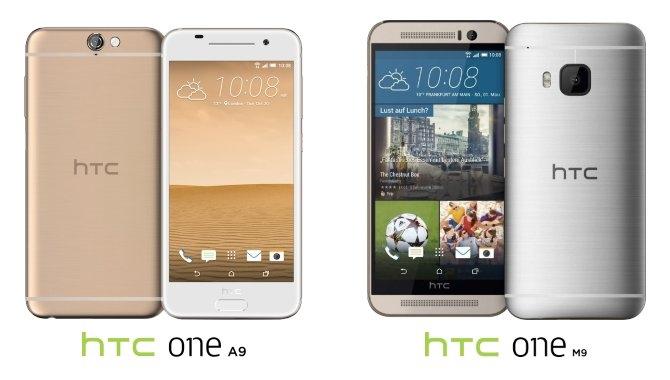 Sammenligning: HTC One A9 mod topmodellen One M9