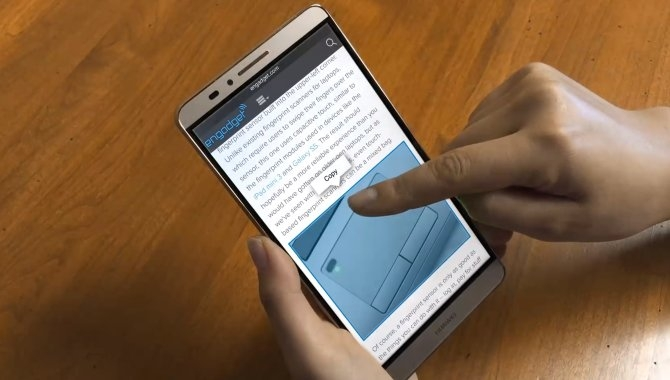 Samsung Galaxy S7 kan komme med dets eget 3D Touch
