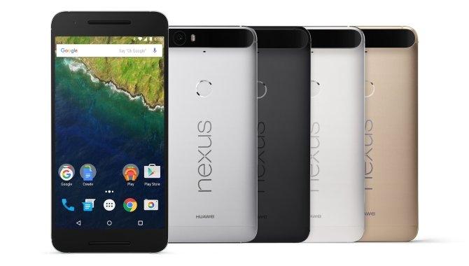 Google lancerer Nexus 6P i lækkert metaldesign