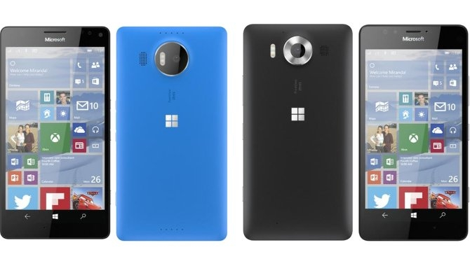 Mulige priser på Microsoft Lumia 950 og 950 XL ude før tid