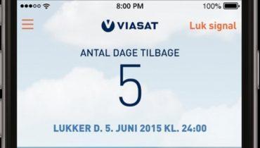Ny Viasat app: Tænd og sluk for tv-signalet i sommerhuset