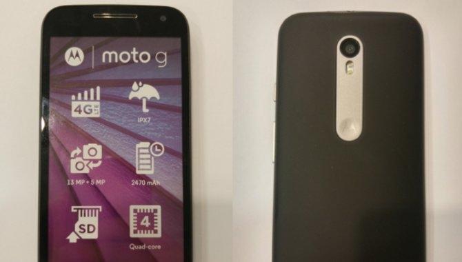 Motorolas næste Moto G bliver vandtæt