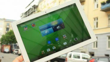 Sony Xperia Z4 Tablet: Fjerlet sværvægter [TEST]