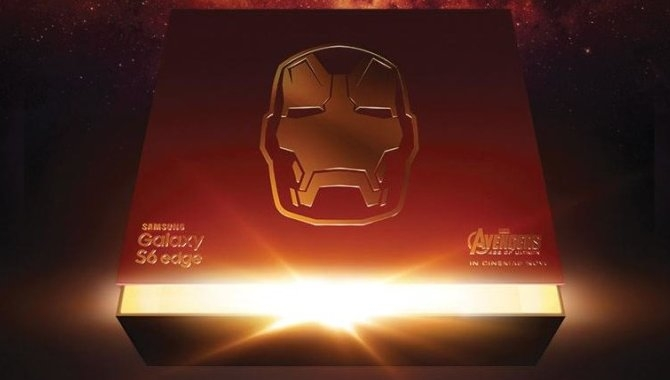 Samsung teaser for sin Iron Man-smartphone