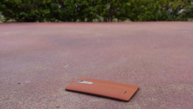 LG G4 drop test, hvad kan den holde til?