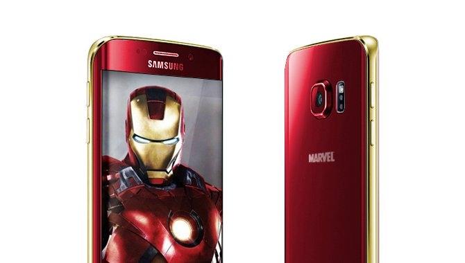 """Samsung lancerer """"Iron Man""""-variant af Galaxy S6 næste måned"""