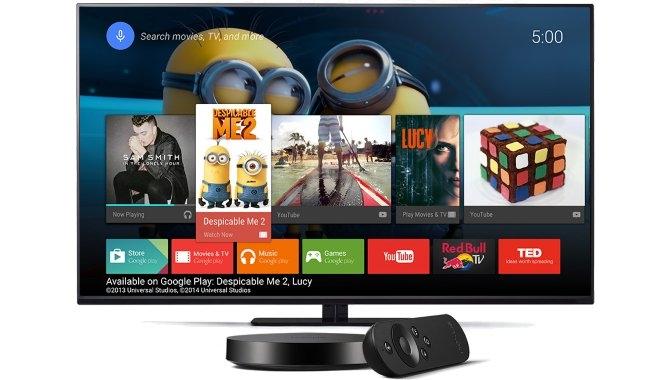 Tv-boksen Nexus Player til salg i den danske Google Store