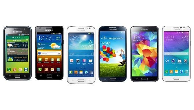 Det betyder navnene på dine Samsung-mobiler
