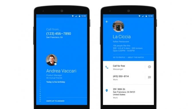 Facebook Hello: en app der sorterer i dine opkald
