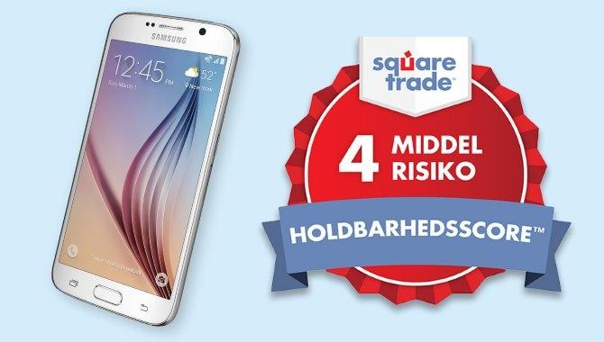 Forsikringsselskab: Galaxy S6 er mester i holdbarhed