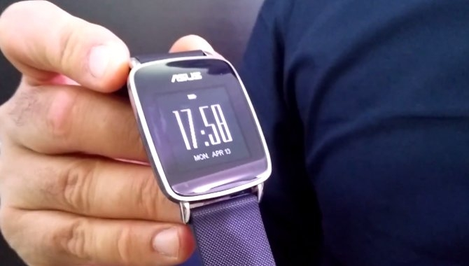 ASUS' VivoWatch-fitnessur vises frem på video
