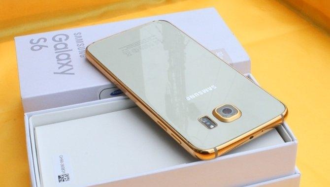 Forklæd din Samsung Galaxy S6 i 24 karat guld