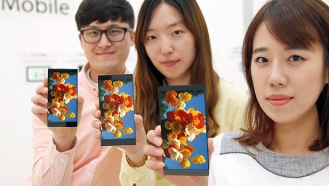 LG annoncerer ny 5,5 tommer LCD til brug i LG G4