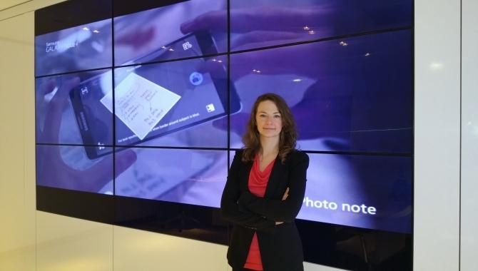 Mød danske Cristina der arbejder for Samsung i London