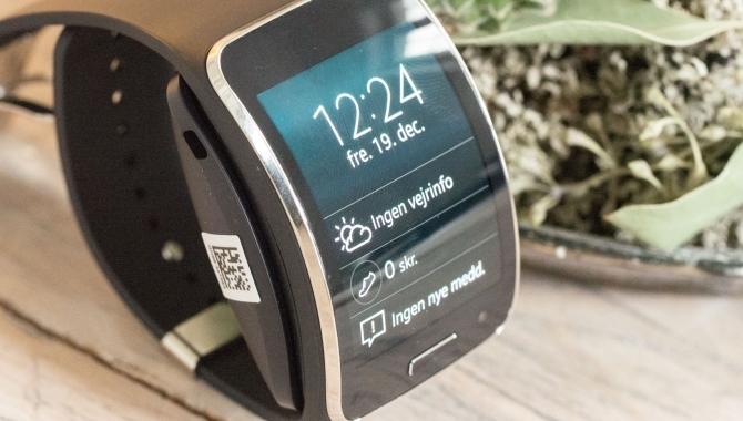 Samsung Gear S – Langt fra sci-fi til virkeligheden [TEST]