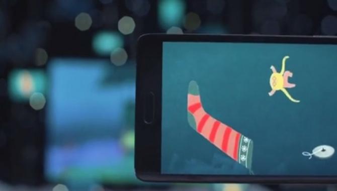 Samsung klar med sød julereklame fordelt på 74 skærme