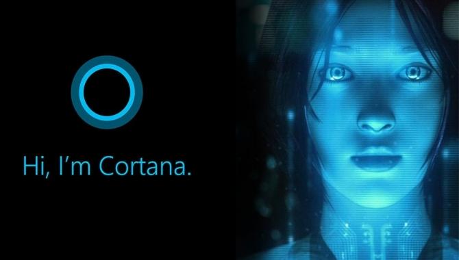 Se et smugkig på Cortana på pc
