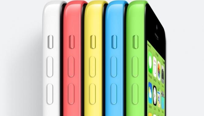 iPhone 5C synger på sidste vers