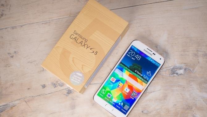 Se Android Lollipop på Samsung Galaxy S5