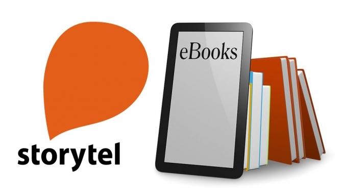 Storytel og Telia giver bøger til øjne og ører