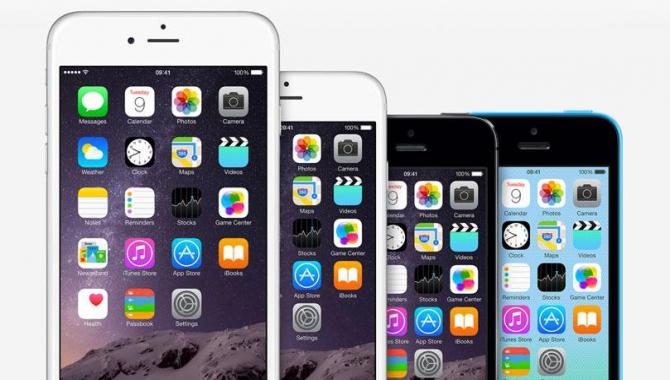 Sammenligning: iPhone 6 og iPhone 6 Plus vs. iPhone 5S