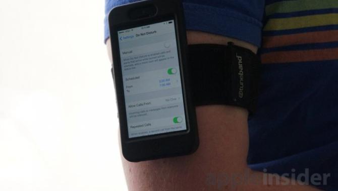 Apple vil sikre fitness uden forstyrrelser