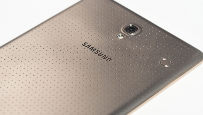 Samsung teaser for øjenscanner
