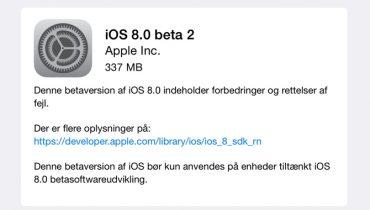 iOS 8 Beta 2 – QuickType tastatur til iPad, indbygget Podcast mv.