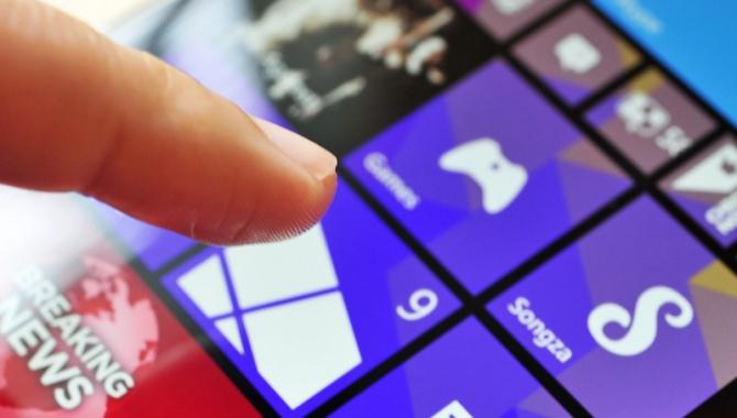 Windows Phone får 3D touch