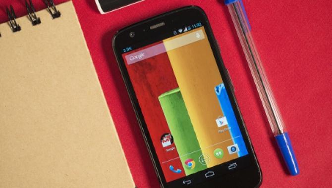 Motorola Moto G får nu både 4G og micro-SD
