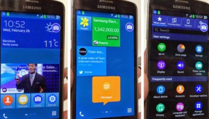 Samsungs første Tizen telefon på vej til Rusland?