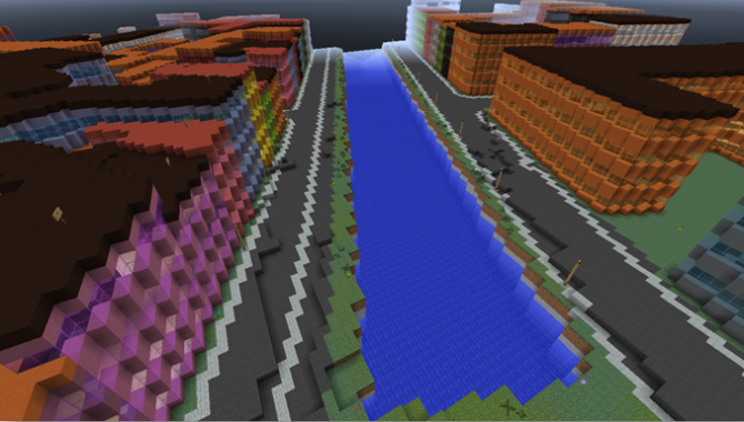 Danmark kommer på Minecraft-landkortet