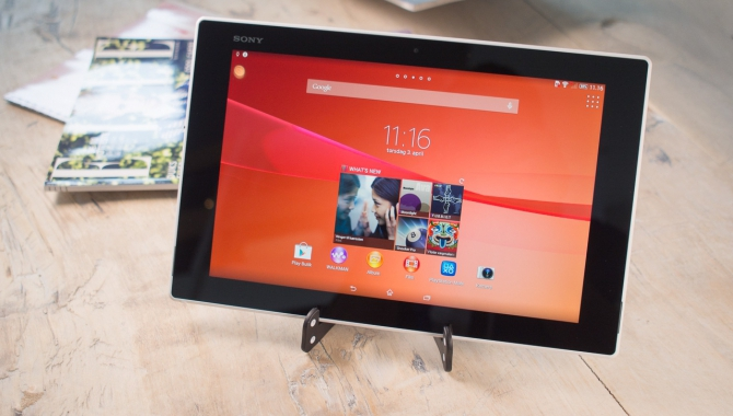 Sony Xperia Z2 Tablet anmeldelse: Verdens letteste og tyndeste 10'er [TEST]