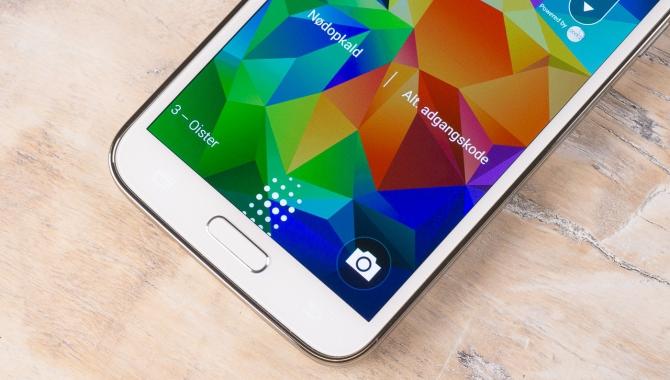Samsung Galaxy S5: Det store billedgalleri