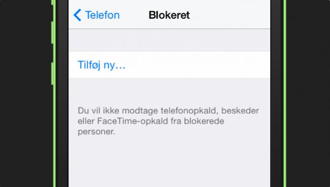 Sådan kan du blokere for uønskede opkald og beskeder [TIP]