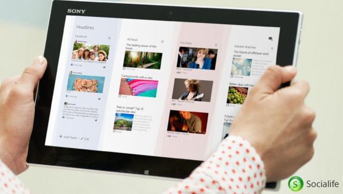 Sony's Socialife app er ny klar til alle Android-brugere