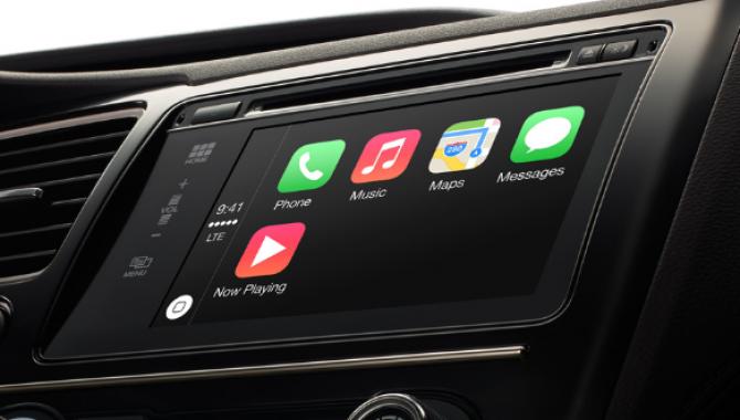 Blackberry er bag Apples nye CarPlay infosystem