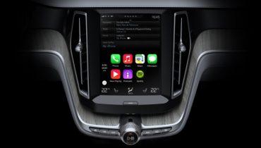 Se Volvo's CarPlay integration i denne fede video