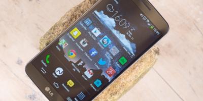 LG G Flex anmeldelse: En mobil til entusiasten