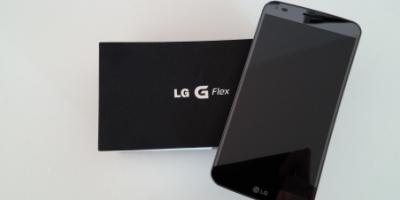 LG G Flex: Første indtryk (mobiltest)