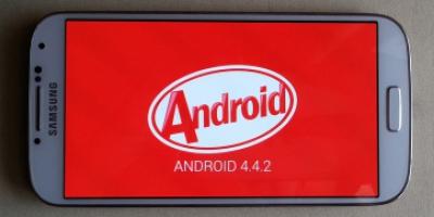 Kitkat set på Koreansk Samsung Galaxy S4