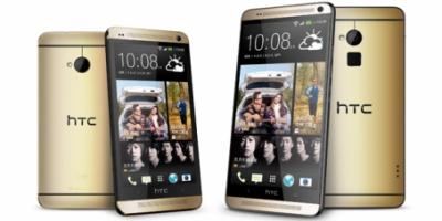 HTC One Max kommer også i en Gold-Edition