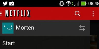 Nu har Android brugerne fået Netflix-profiler