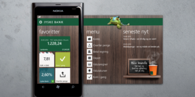 Jyske Mobilbank klar til Windows Phones – med Swipp