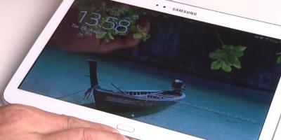 Samsung Galaxy Tab 3 – se hvordan den virker