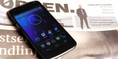 LG dropper trådløs Nexus 4 oplader