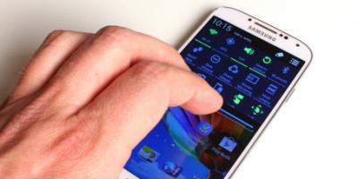Kæmpe gennemgang af Samsung Galaxy S 4 – Danmarks første