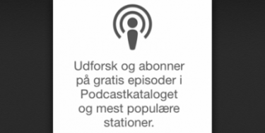 Apple opdaterer deres Podcast applikation