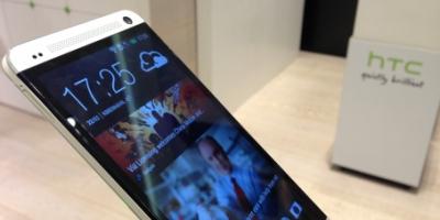 Sort HTC One kræver tålmodighed